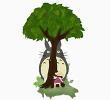 Totoro & Mei play Hide & Seek. Unisex T-Shirt