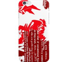 Spike Cowboy bebop Red iPhone Case/Skin
