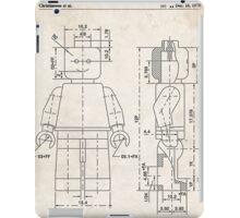 Lego Minifigure US Patent Art iPad Case/Skin