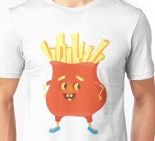 Happy French Fries Unisex T-Shirt