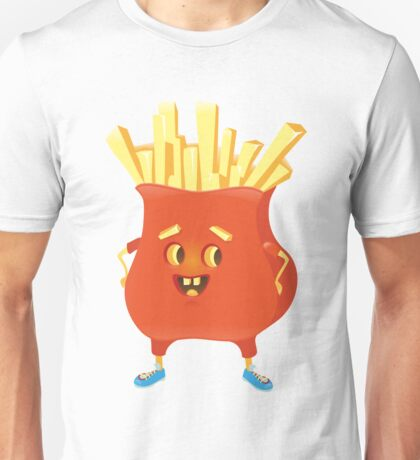 Happy French Fries Unisex T-Shirt