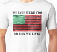 Can We Live? (White) Unisex T-Shirt