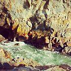 sea cave by Santamariaa