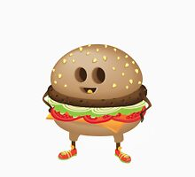 Happy Hamburger Unisex T-Shirt