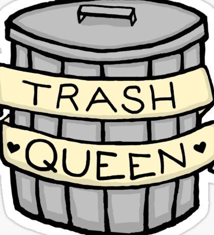 Trash Queen Sticker