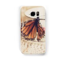 Tea Time With A Butterfly Samsung Galaxy Case/Skin