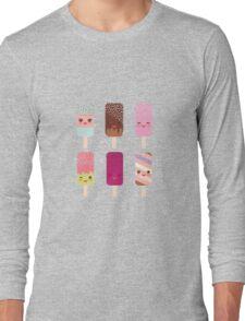 Yummy icecreams Long Sleeve T-Shirt