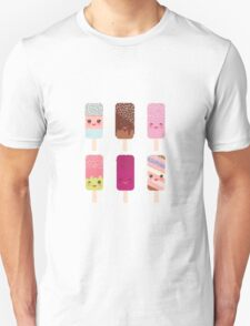 Yummy icecreams Unisex T-Shirt