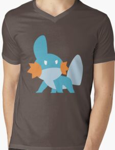 Mudkip Mens V-Neck T-Shirt