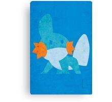 Mudkip Canvas Print