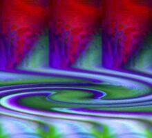 Creation Of A Vortex (Abstract) Sticker