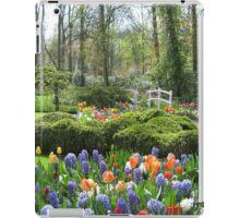 Little Bridge - Keukenhof Gardens iPad Case/Skin