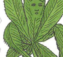 Rollin' Weed Sticker