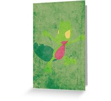 Treecko Greeting Card