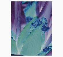 blue purple tulip One Piece - Short Sleeve