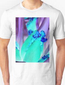 blue purple tulip Unisex T-Shirt