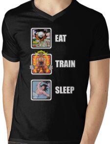 Eat, Train, Sleep (Deadlift) Mens V-Neck T-Shirt