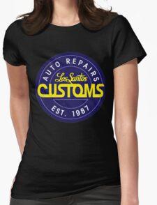 Los Santos Customs logo Womens Fitted T-Shirt