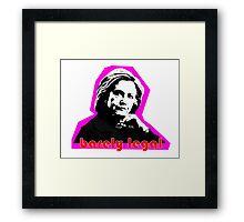 Hillary Barely Legal Framed Print