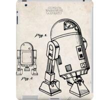 Star Wars R2D2 Droid US Patent Art iPad Case/Skin