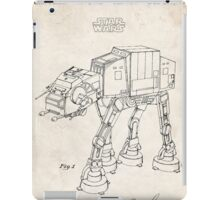 Star Wars AT-AT Imperial Walker US Patent Art iPad Case/Skin