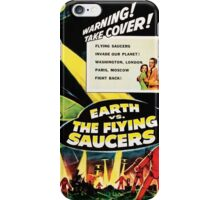 Earth vs. The Flying Saucers iPhone Case/Skin
