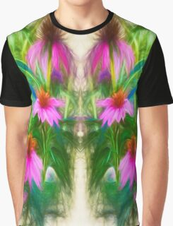 Painting Flower`s Graphic T-Shirt
