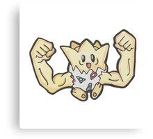 Togedude- Pokemon Fusion Canvas Print