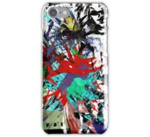 Explosive collage iPhone Case/Skin