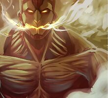Armored Titan (Attack On Titan) by DaXWhiteXKnight