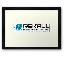 Rekall Corporation Framed Print