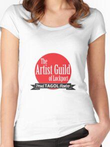 Proud TAGOL Member Insignia - Medium Logo Women's Fitted Scoop T-Shirt
