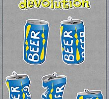 Beer Can devolution by Christian Buoro