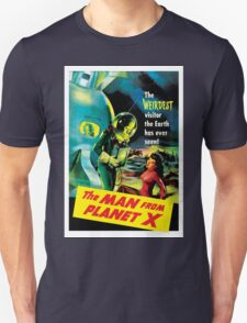 The Man From Planet X Unisex T-Shirt