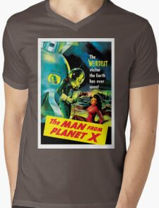 The Man From Planet X Mens V-Neck T-Shirt