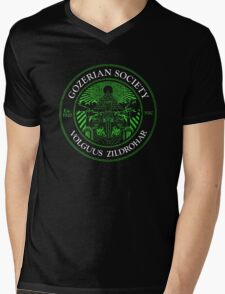 Gozerian Society - Green Slime Variant Mens V-Neck T-Shirt