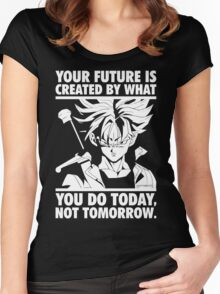 Create Your Future (Trunks) Women's Fitted Scoop T-Shirt