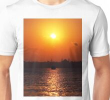 sunset in Istanbul Unisex T-Shirt