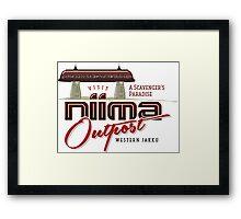 Niima Outpost Framed Print