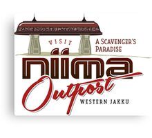 Niima Outpost Canvas Print