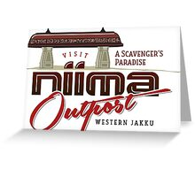 Niima Outpost Greeting Card