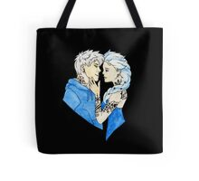 Tattooed Ice King and Queen Tote Bag