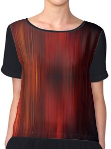Flame Abstract Stripes Chiffon Top