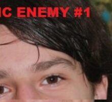 Public Enemy #1 Sticker