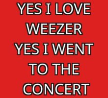 Weezer  One Piece - Short Sleeve