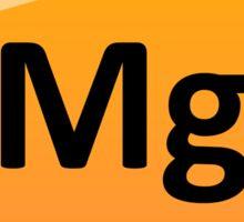 Magnesium Element Tile - Periodic Table Sticker