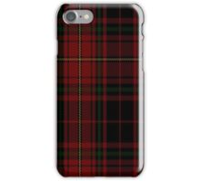 01909 Canterbury Fashion Tartan  iPhone Case/Skin