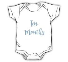 Ten Months Old (Boy) One Piece - Short Sleeve