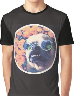 The Grooviest Pug on Earth Graphic T-Shirt