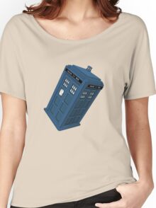 Flying TARDIS Women's Relaxed Fit T-Shirt